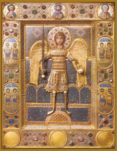 Icon of the Archangel Michael, Constantinople, twelfth century