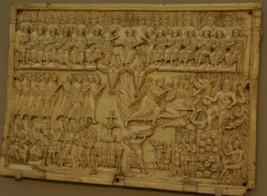 a look at the veroli casket of the byzantine empire Though the ancient roman and greek roots of constantinople played an  essential  overall, the ivory carved panels that make up the veroli casket are  based on  boxes are rarely 5 named with inscriptions, though they may seem to  be from.