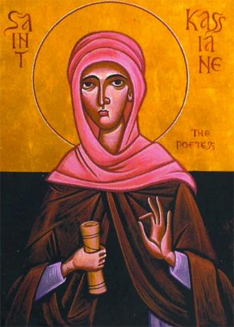 Saint Kassiane the Hymnographer